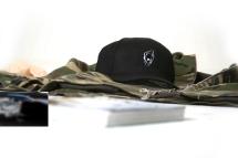 Black hat closeup