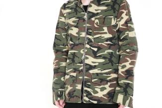 camo jacket closeup