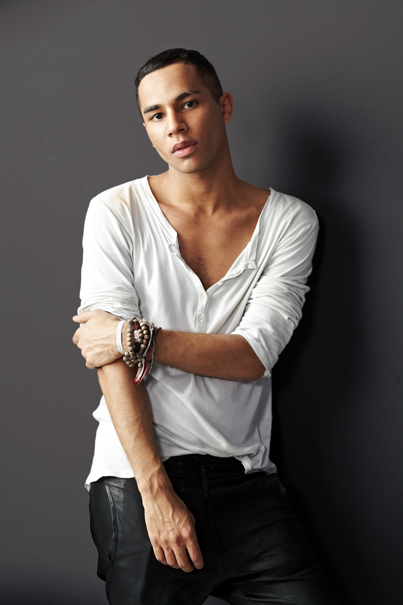 Olivier Rousteing Photographed for Balmain