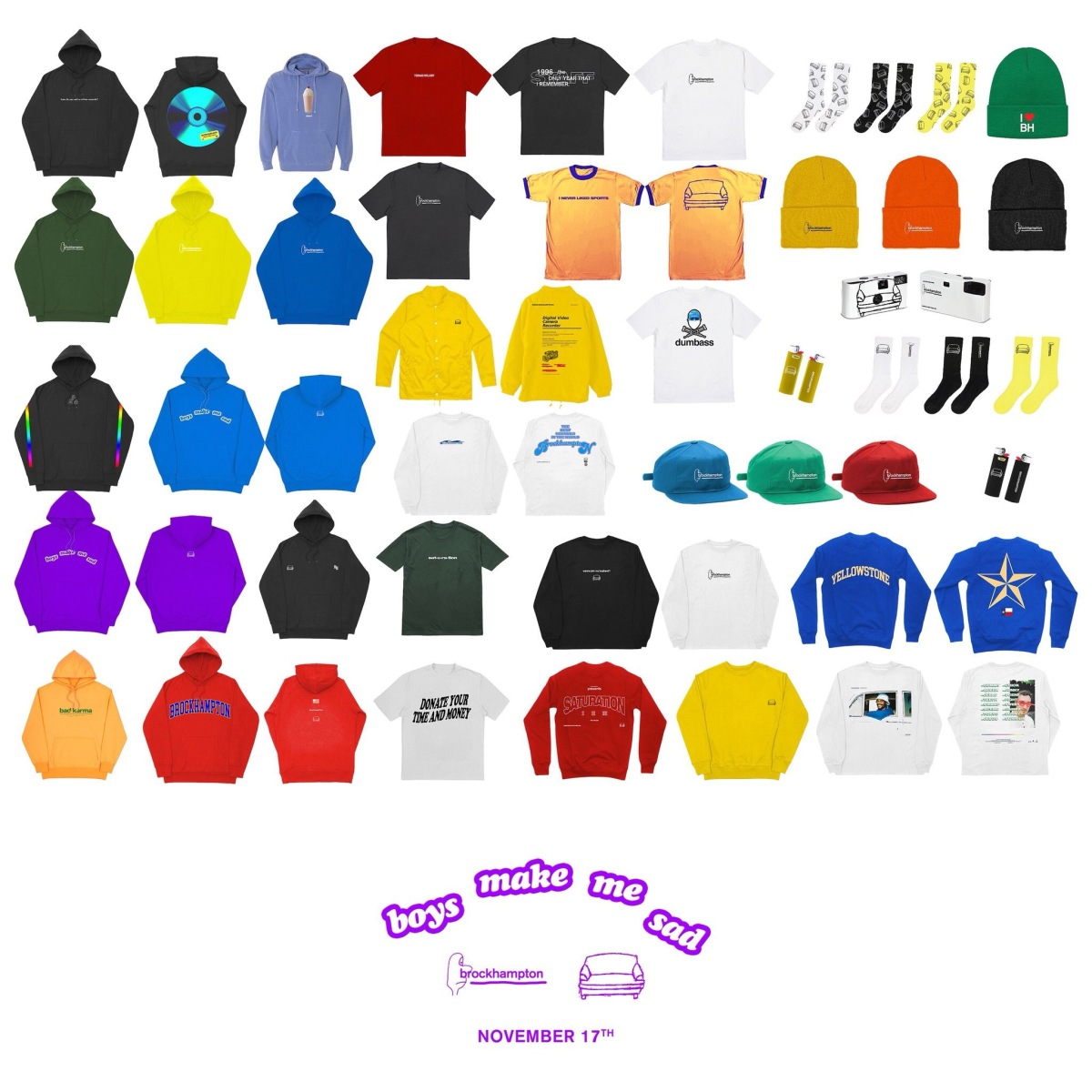 Brockhampton set to release new line of merch