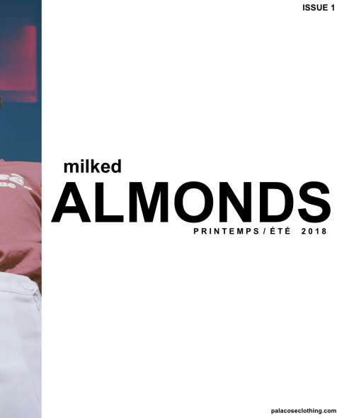 Pages from Milked Almonds magazine